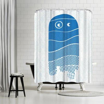 NDTank Shades of Boo Shower Curtain