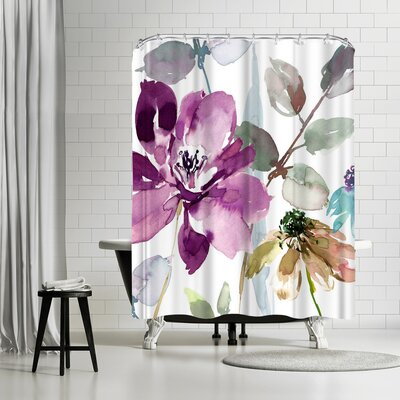 Harrison Ripley Floral Flurish Shower Curtain