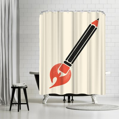 NDTank Start Something Shower Curtain