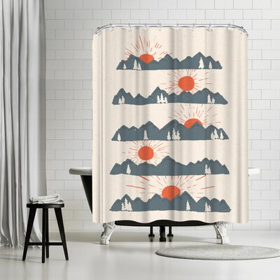 NDTank Sunrises Sunsets Shower Curtain