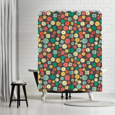 NDTank The Other Buttons Shower Curtain