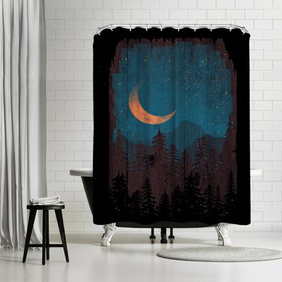 NDTank Those Summer Nights Shower Curtain