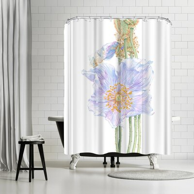 Solveig Studio Himalayan Poppy Shower Curtain