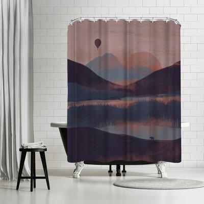 NDTank A Drift in the Mounatins Shower Curtain