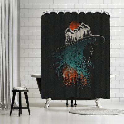 NDTank Aurora Shower Curtain