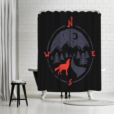 NDTank Call of the North Shower Curtain