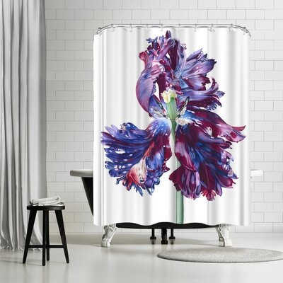 Solveig Studio Parrot Tulip Shower Curtain