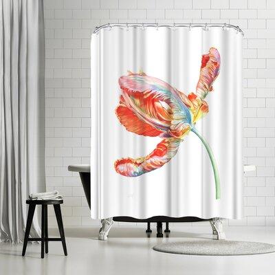 Solveig Studio Parrot Tulip Shower Curtain