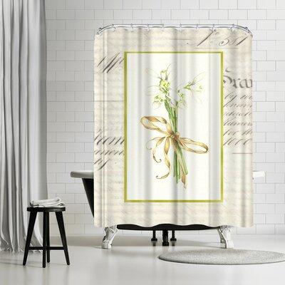 Solveig Studio Snowdrops Shower Curtain