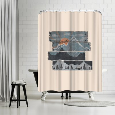 NDTank Into the Morning Shower Curtain