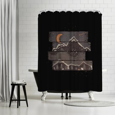 NDTank Into the Night Shower Curtain