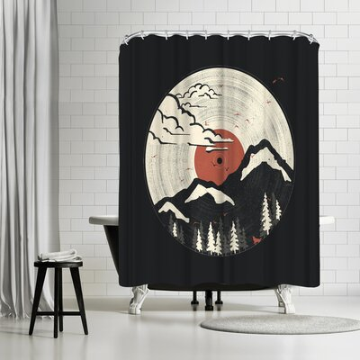 NDTank Mtnlp Shower Curtain