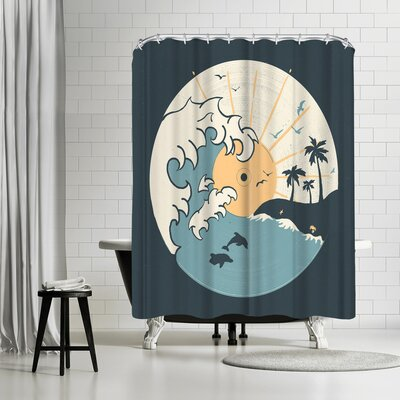 NDTank Ocnlp Shower Curtain
