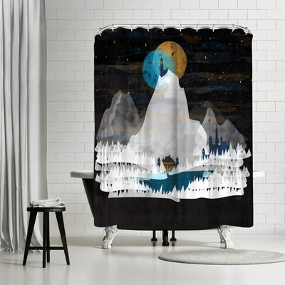 NDTank The Observatory Shower Curtain