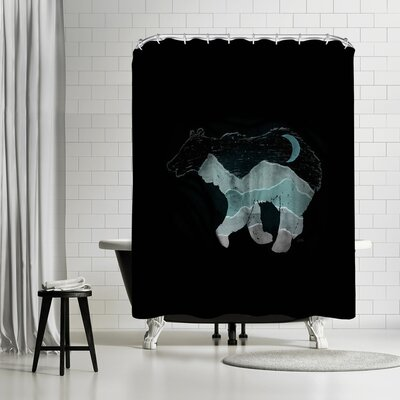 NDTank Ursa Major Shower Curtain