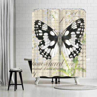 Solveig Studio Marbledwhite Cow Parsley Shower Curtain