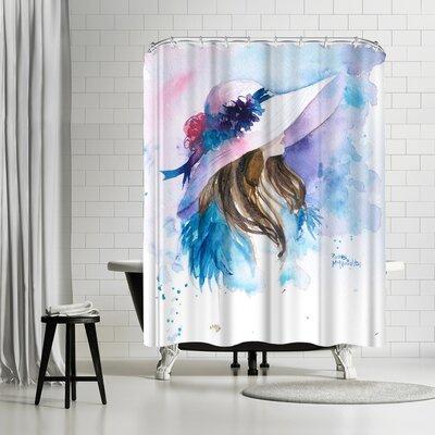 Rachel McNaughton Ascot Lady Shower Curtain