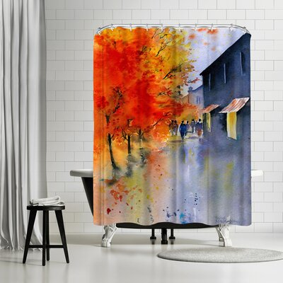 Rachel McNaughton Autumn Evening Shower Curtain