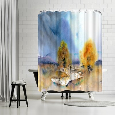 Rachel McNaughton Autumn Sun Shower Curtain