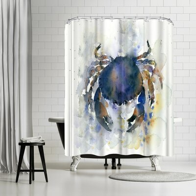 Rachel McNaughton Crab Shower Curtain