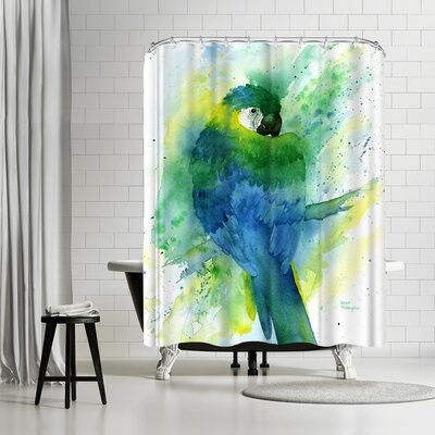 Rachel McNaughton Macaw Shower Curtain