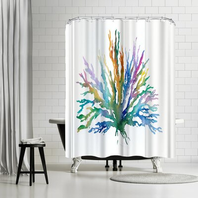 Rachel McNaughton Coral Shower Curtain