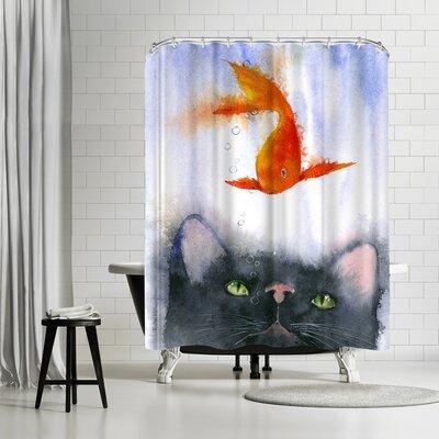 Rachel McNaughton Fish Supper Shower Curtain