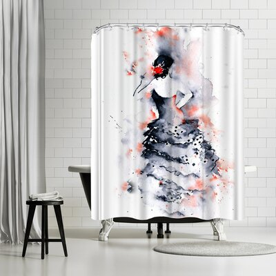 Rachel McNaughton Flamenco Shower Curtain