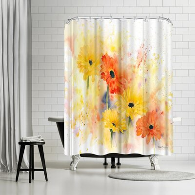 Rachel McNaughton Gerbera Shower Curtain
