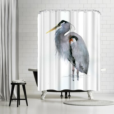 Rachel McNaughton Heron Shower Curtain