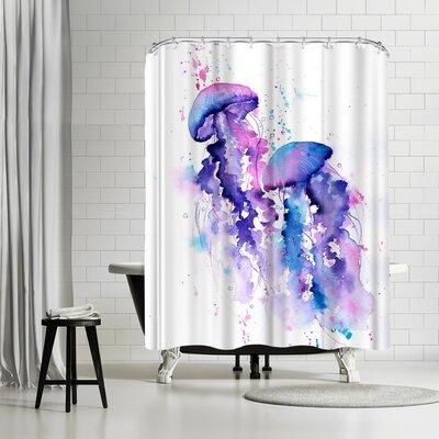 Rachel McNaughton Jellyfish Shower Curtain