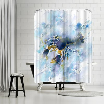 Rachel McNaughton Lobster Shower Curtain