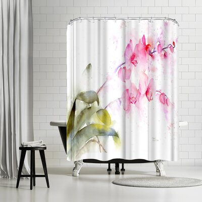 Rachel McNaughton Orchid Shower Curtain