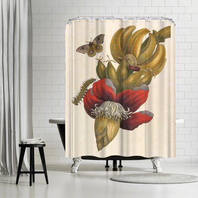 Adams Ale Bananas Shower Curtain