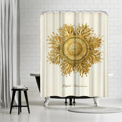 Adams Ale Jelly fish Shower Curtain