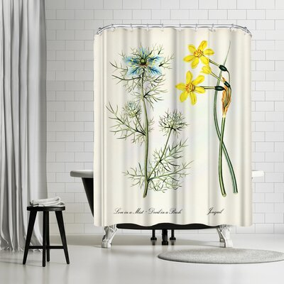 Adams Ale Jonquil Shower Curtain