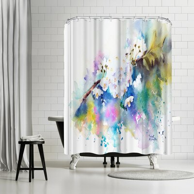 Rachel McNaughton Spring Blossom Shower Curtain