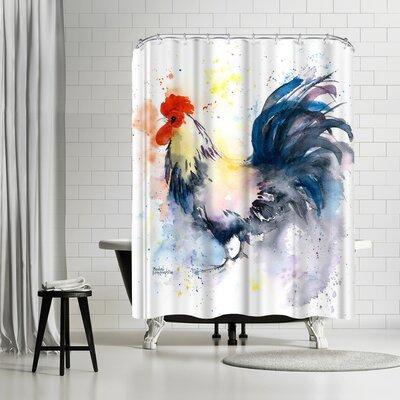 Rachel McNaughton Strutting Your Stuff Shower Curtain