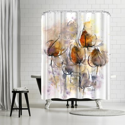 Rachel McNaughton Teasels Shower Curtain