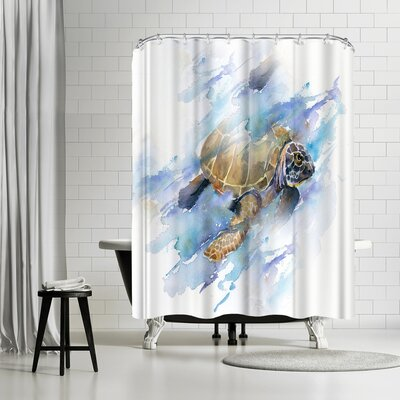 Rachel McNaughton Turtle Shower Curtain