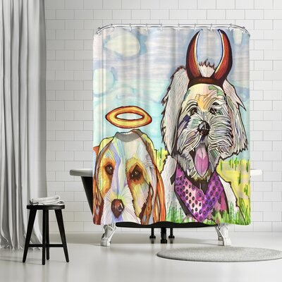 Solveig Studio Angelina and Satana Shower Curtain