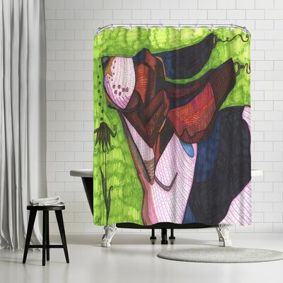 Solveig Studio Basset Hound Shower Curtain
