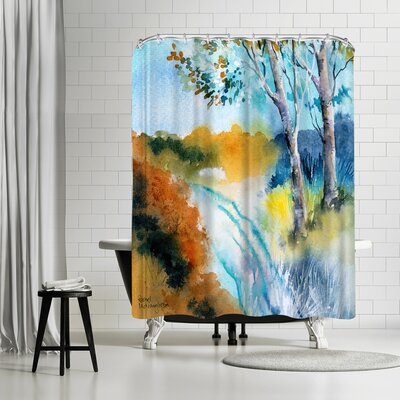 Rachel McNaughton Autumn Frost Shower Curtain