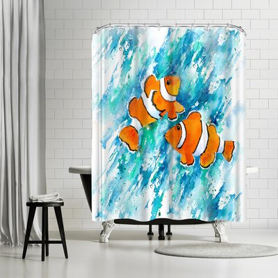 Rachel McNaughton Clown Fish Shower Curtain