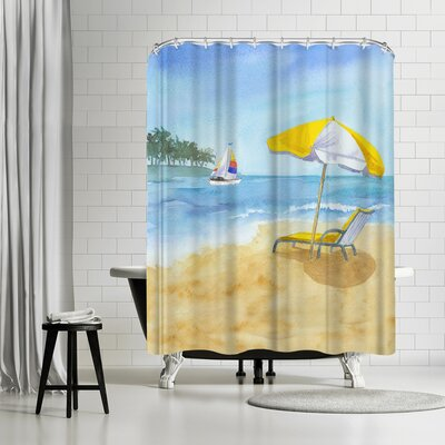 Rachel McNaughton Lazy Days Shower Curtain