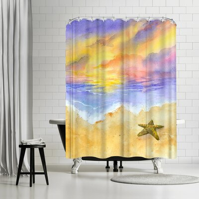 Rachel McNaughton Lone Star Shower Curtain