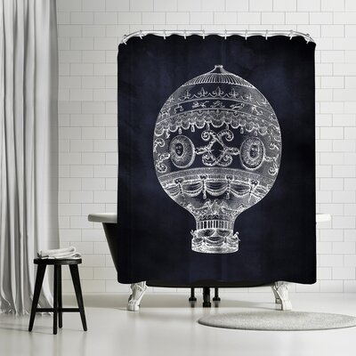 Adams Ale French Balloon Shower Curtain