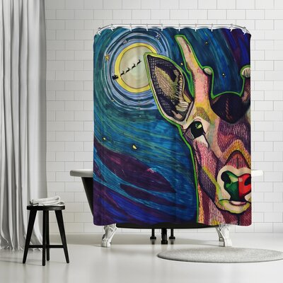 Solveig Studio Ruby Shower Curtain