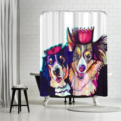 Solveig Studio Dogs Shower Curtain