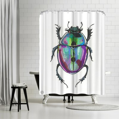 Solveig Studio Beauty Bug Shower Curtain